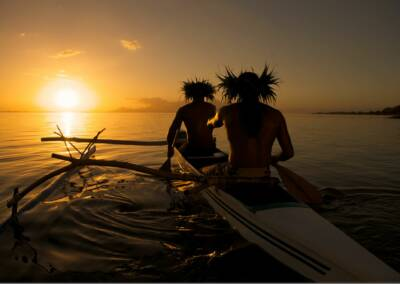 Sunset Tahiti Tim McKenna